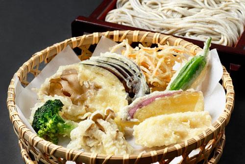 野菜天セイロ